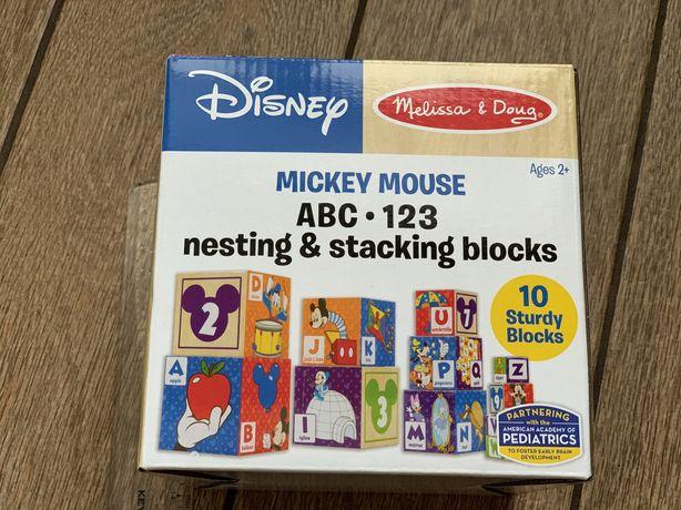 Кубики и сортеры Melissa & Doug Mickey Mouse & Friends Nesting & Stack