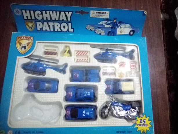 """Набор для мальчишек """"Полицейский патруль"""""""