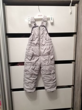 Kombinezon zimowy zara spodnie na śnieg 92