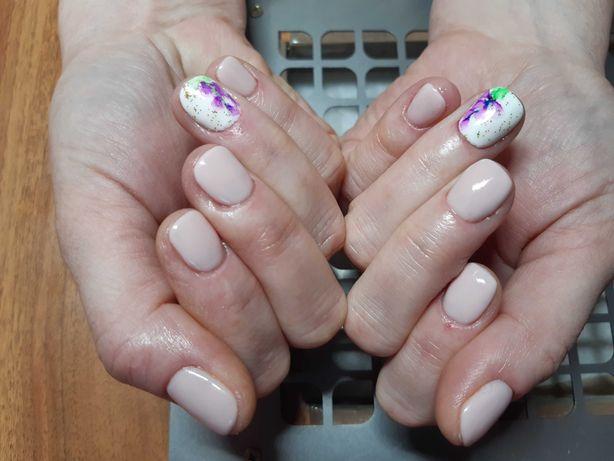 Маникюр, покрытие гель-лаком, наращивание ногтей, м.Позняки, Осокорки