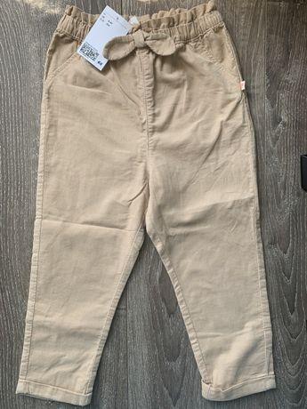 Штаны, брюки вельветовые H&M, hm на девочку 3-4 года