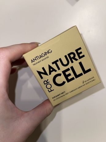 Nature for cell Antiaging suplement diety nowy