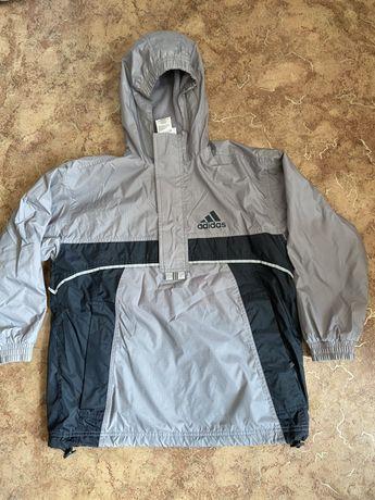 Куртка,ветровка фирмы Adidas  рост 140см