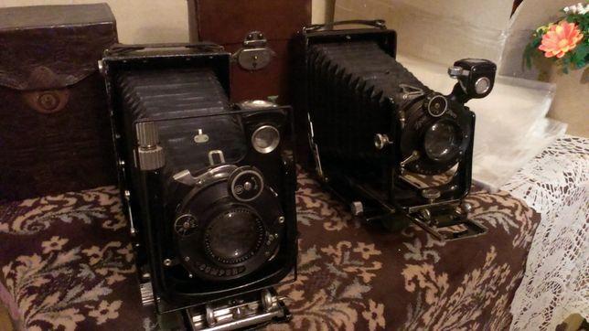 фотокамеры 9х12 Цейсс Икон 207/1 и Фогтлендер Берхейл