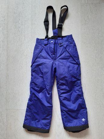 Spodnie ocieplane narciarskie Lupiku 110/116