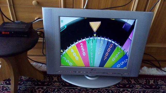 tv lg 20 cali plus dekoderek od odbioru naziemnych programow cyfrowych