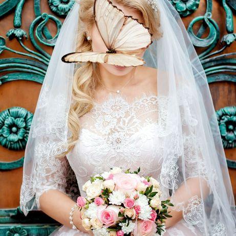 Продам свадебное платье 42-44 р-р
