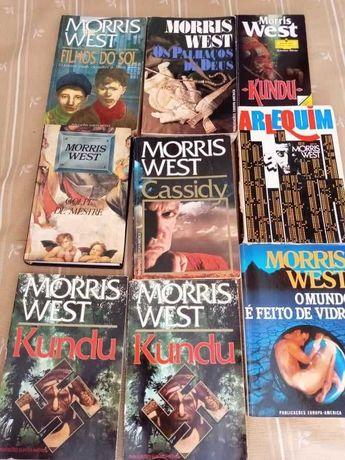 Morris West, muitos livros do autor, preço por livro.