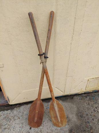 Весла для лодки деревянные