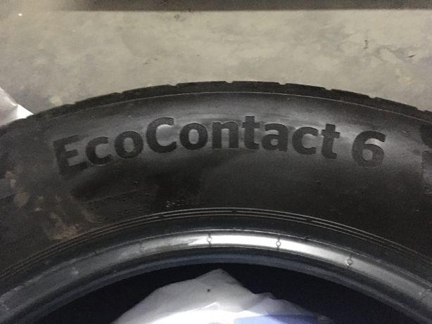 Opony Continental EcoContact6: 4tys przebiegu!