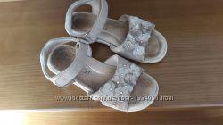 обувь босоножки кожаные d. d. step на стельку 19. 5 см