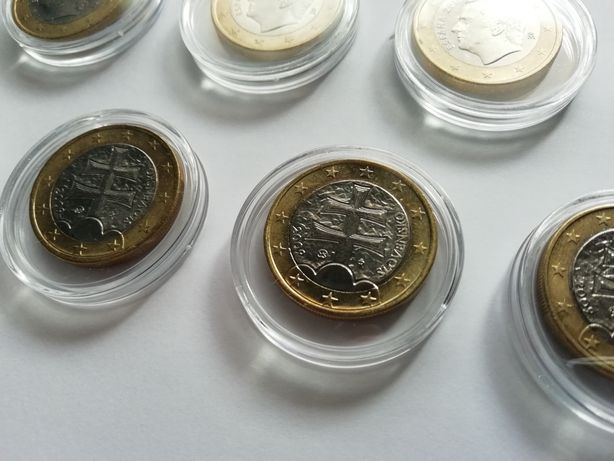 Moedas 1 Euro - ESLOVÁQUIA | ESPANHA - Troca/Venda