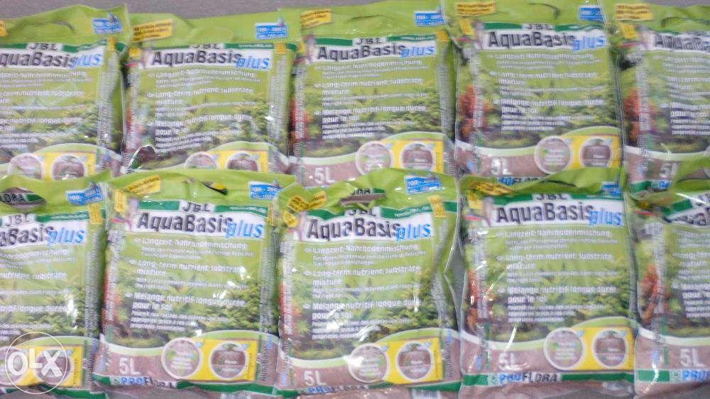 Substrato aqua basic plus para aquario 5L