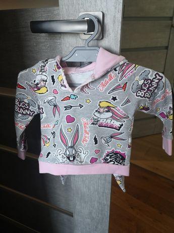 Bluza z kapturem z uszami królika