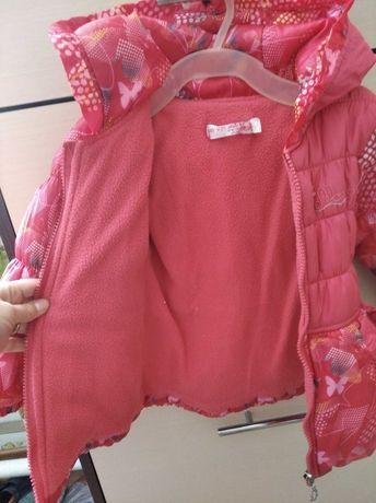 Курточка на девочку осенняя