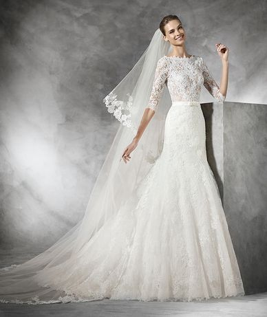 Свадебное платье Pronovias Timy ivory
