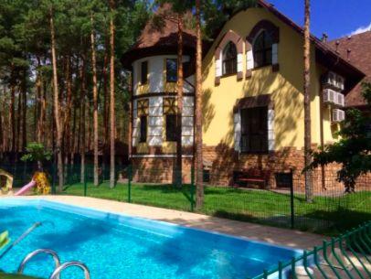 Аренда Дома с бассейном в Сосновом Лесу, Вышгородский р-н, Лебедёвка