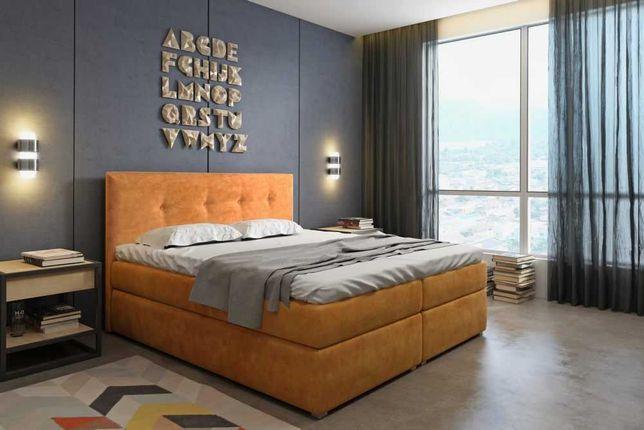 Łóżko kontynentalne SALLA 180 TRANSPORT gratis, Raty !