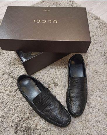 Туфли кожаные Gucci оригинал Италия