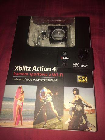 Kamera sportowa xblitz action 4k +karta micro sd kingstone 16gb