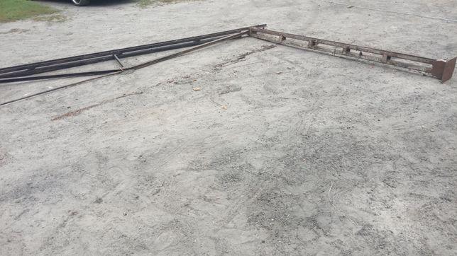 Konstrukcja stalowa wiata garaż