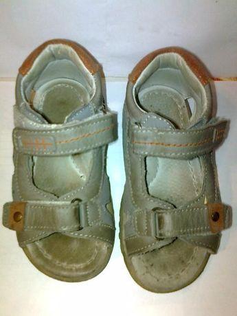 Босоножки, сандали кожаные ортопедические.