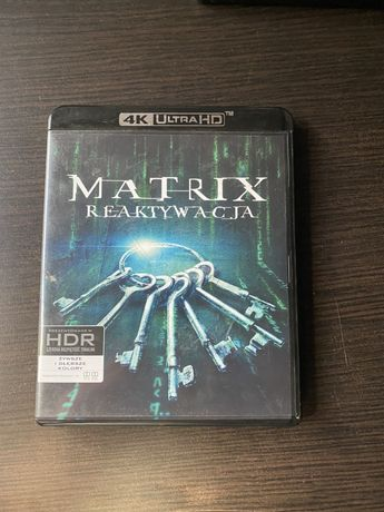 Matrix Reaktywacja UHD 4k bluray