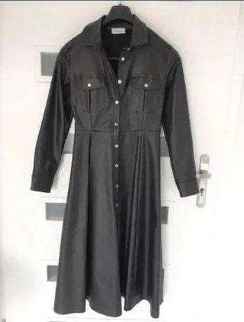 Chicaca sukienka midi eko skóra 38 M
