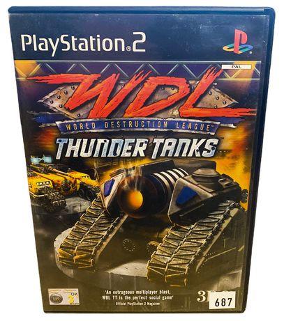 Wdl: Thunder Tanks Ps2
