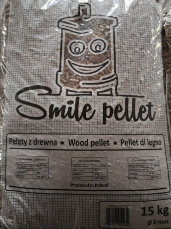 Pellet Smile 6mm Ekologiczny Super Jakość Dostawa Gratis