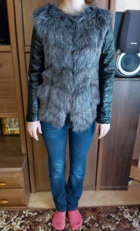 Продам новую меховую осенне-весеннюю курточку