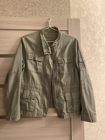 Джинсовый пиджак накидка легкая ретро
