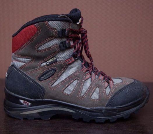 Трекинговые ботинки Lowa 39р. мужские женские salewa gore-tex vibram