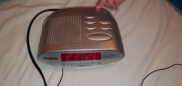 Radiobudzik , radio , budzik , alarm , thomcon cr 61