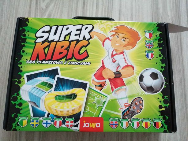 Super kibic nowa gra planszowa Jawa