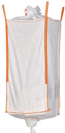 Nowy Worek Big Bag beg 95/95/100 cm lej zasyp/wysyp 1000 kg HURTOWNIA