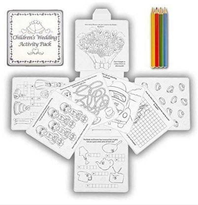 Brinde Casamento - Kits Atividades Criança