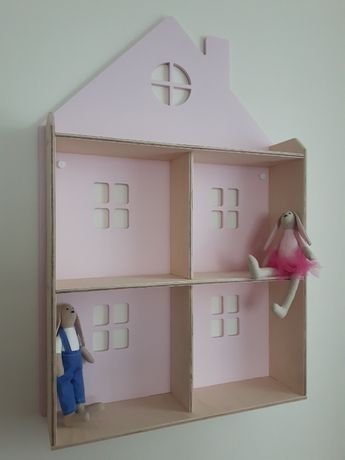 Półka domek do pokoju małej księżniczki PROMOCJA