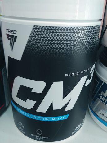 Trec CM3 500g kreatyna jabłczan siła masa redukcja wytryzmałość