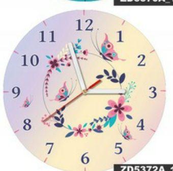 zegar do pokoju dziecięcego zwierzęta nowy