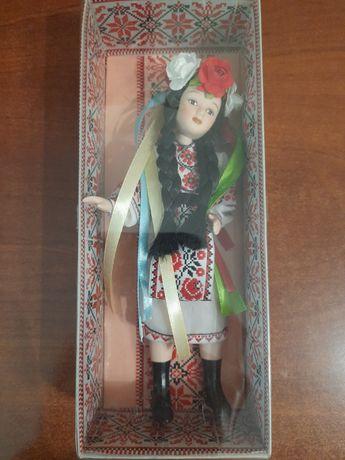 Кукла украинка, новая. Висота ~20 см