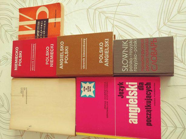 słownik angielski niemiecki rosyjski rozmówki