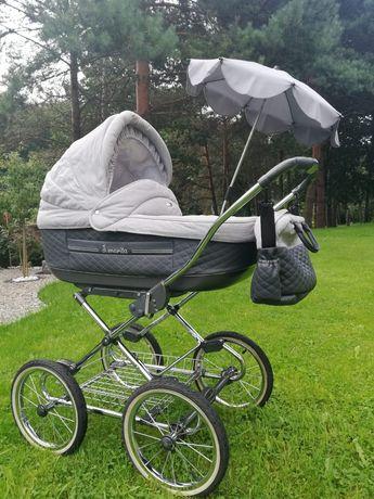 WÓZEK ROAN MARITA 3W1 z fotelikiem Babies Millo+gratis fotelik 9-18 kg