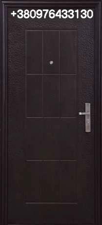 Дверь входная эконом метал