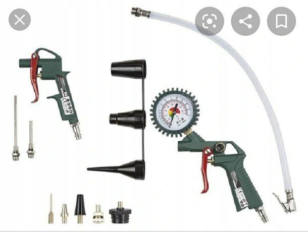 Nowy zestaw akcesoriów pistolet do kompresora pompka rowerowa do opon