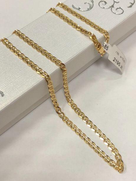 piękny złoty łańcuszek p585 10,45g