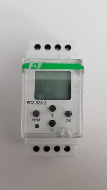 Zegar sterujący F&FPCZ-526.3 astronomiczny NFC z programowalną przerw