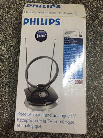 Antena HD TV - Philips sdv 4235/10 - NOVO