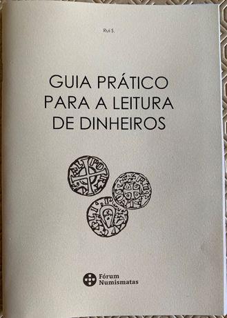 Numismatica - Caderno: Guia prática para a leitura de Dinheiros