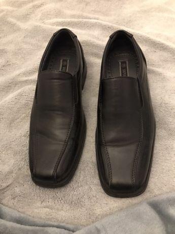 Vapiano CCC buty eleganckie 38 czarne męskie chłopięce komunia